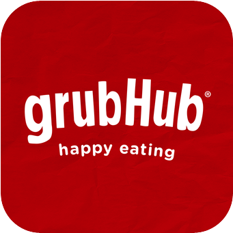 We delivery with Grub Hub