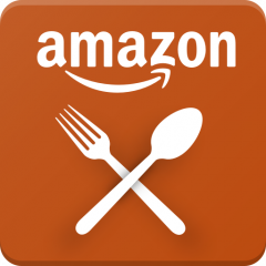 We delivery with Amazon Restaurants